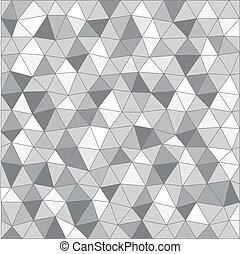 Abstract background of different triangles