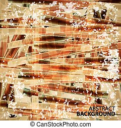 Abstract background of dirty faded brush strokes