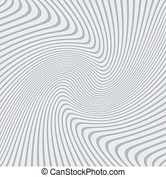 Abstract background of distorted lines in grey and white ...