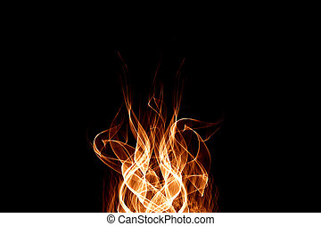 Abstract background of Fire