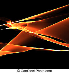 abstract background of fire lines