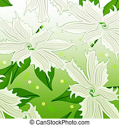Abstract background of flowers