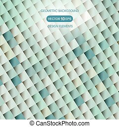 Abstract background of geometric sh