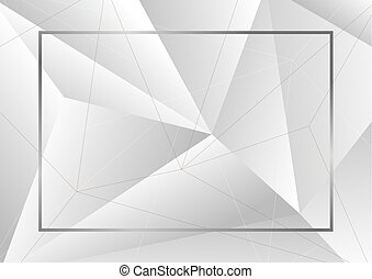 Abstract background of geometric vector illustration