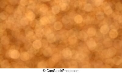 Abstract background of golden bokeh spinning - Abstract ...