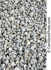 Abstract background of gravel