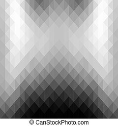 Abstract background of gray triangles.