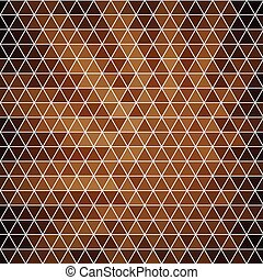Abstract background of hexagons in retro style.