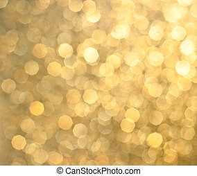 Abstract background of holiday glittering lights