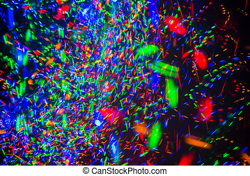 abstract background of  lights