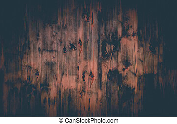Abstract background of old wood planks texture, vintage film style, old retro wall style for Vignette