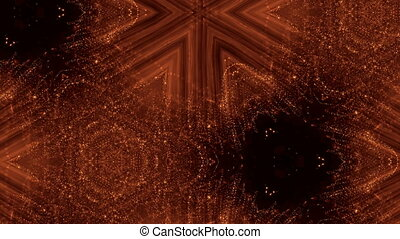 abstract background of particles with DOF, bokeh. beautiful...