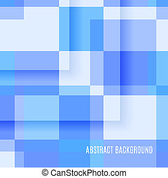 Abstract Background of Rectangles