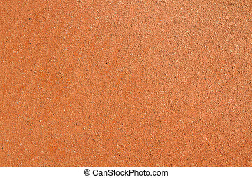Abstract background of sand on a tennis court.