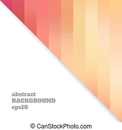 Abstract background of shapes in warm colors.