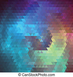 Abstract background of the triangles