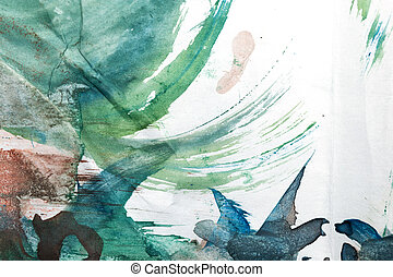 abstract background of watercolor