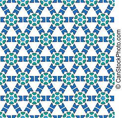 Winter textile pattern