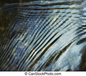 abstract background or texture retro Blurred lines on the water