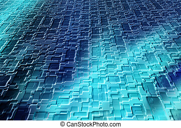 Textured and patterned abstract image for backgrounds or wallpaper.