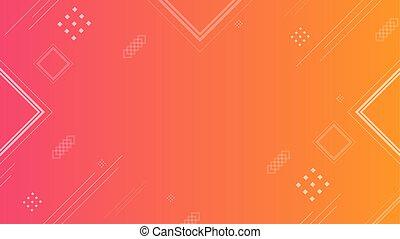 abstract Background orange