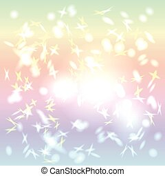 Abstract background pastel color. Rainbow. Glare. vector