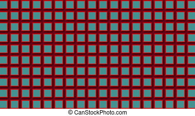 Abstract background pattern shapes. Seamless loop