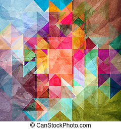 abstract background - bright colorful the geometric abstract...