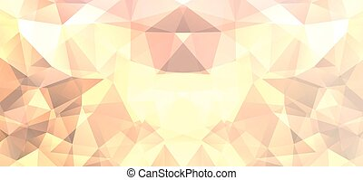 abstract background polygonal style