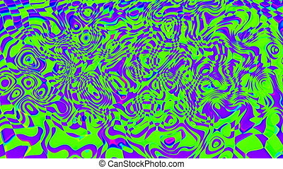 Abstract background psychedelic art