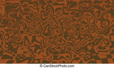 Abstract background psychedelic art. Seamless loop