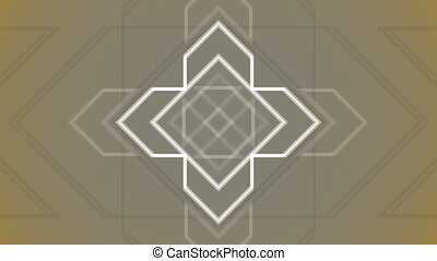 Abstract Background Pulsing Geometric Arrows 13 - A computer...