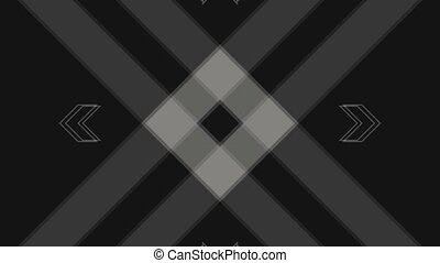 Abstract Background Rectangular Shape Pulsing 11 - A...