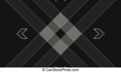 Abstract Background Rectangular Shape Pulsing 15 - A...