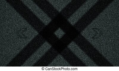 Abstract Background Rectangular Shape Pulsing 2 - A computer...