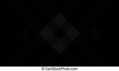 Abstract Background Rectangular Shape Pulsing 7 - A computer...