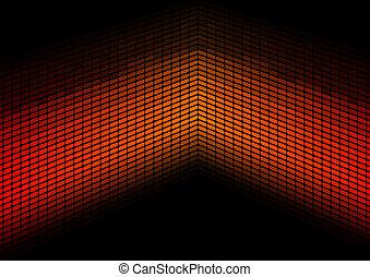 Red / Orange Equalizer