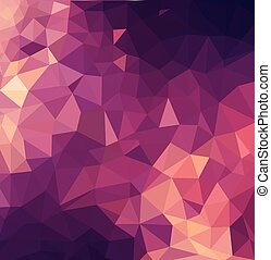 Abstract Background / retro mosaic