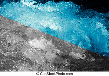 abstract background. rough water with splashes