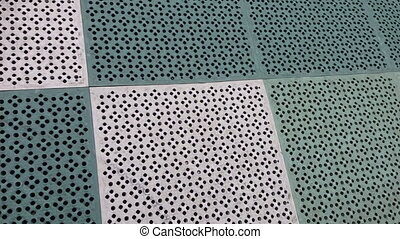 Abstract background rubber floor