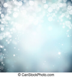 Abstract background - Shimmering blur spot lights on...