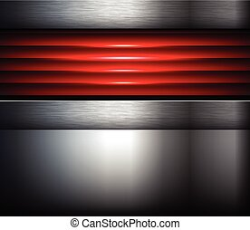 Background Silver Red Elegant Business Vector Abstract Background