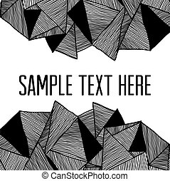 Abstract background. Square frame for your text