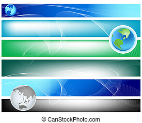 abstract background; planet earth, curves, swirl, waves