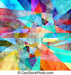 abstract background - Abstract bright colorful background...
