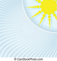 Abstract background. Sun rays.
