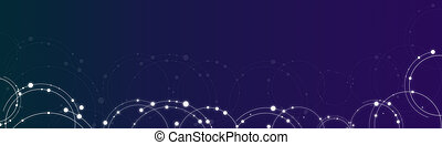 abstract background technology communication concept