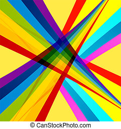 Abstract Background. Vector Backdrop for Designs in Rainbow Style.