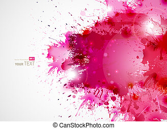 Abstract Background - Abstract artistic Background forming...