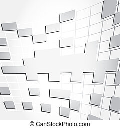 Abstract background vector cube